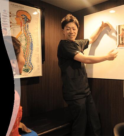 当院の、治療コンセプトとして「痛みの出ない身体づくり、健康寿命の促進」を掲げています。