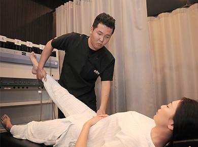手足のしびれの治療内容・施術方針